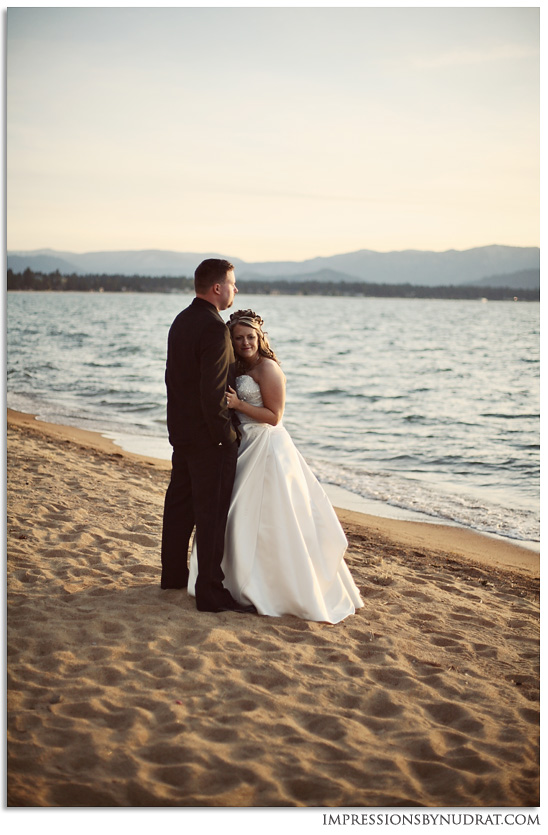 Edgewood Lake Tahoe wedding photography